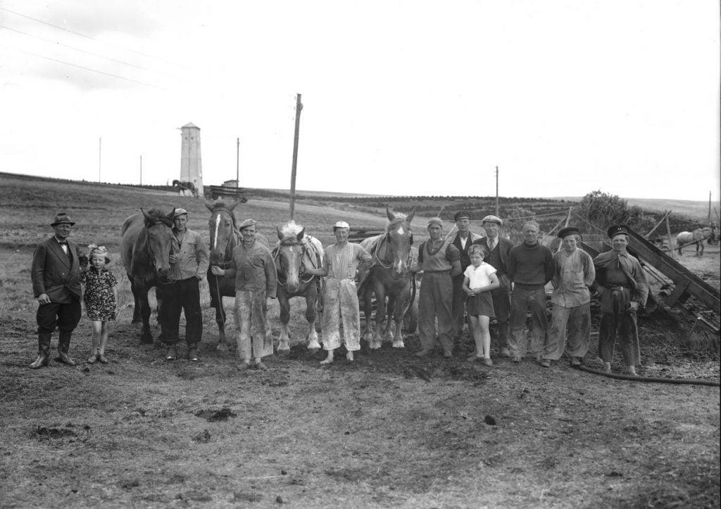 15.5  Tørvegravning, men hvor ?  Der står 1942-43 på æsken
