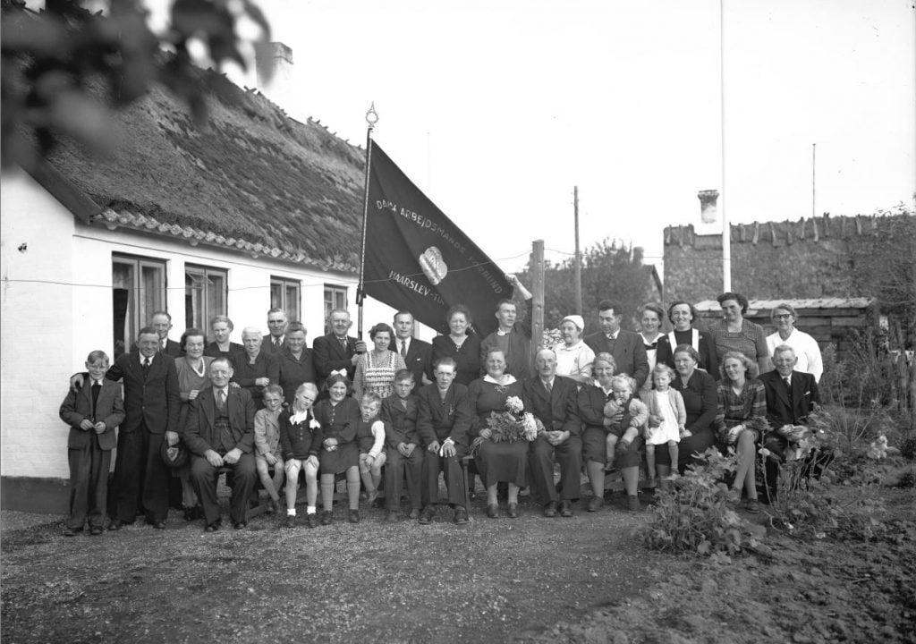 31.5  Dansk arbejdsmandsforening, Haarslev.