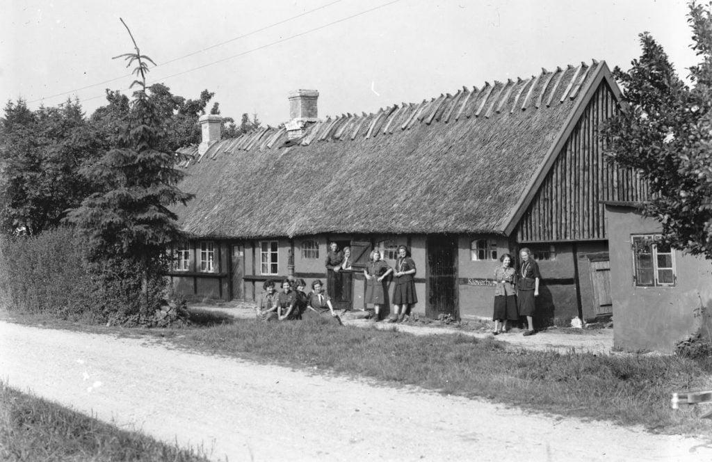 Spejderhytten Kløverhuset,Magleskovvej 10, Borup