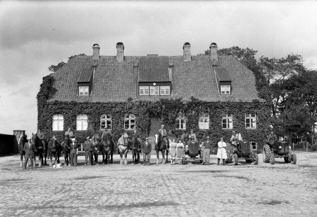 65.5  Forpagtergården Skullerupholm under Ledreborg