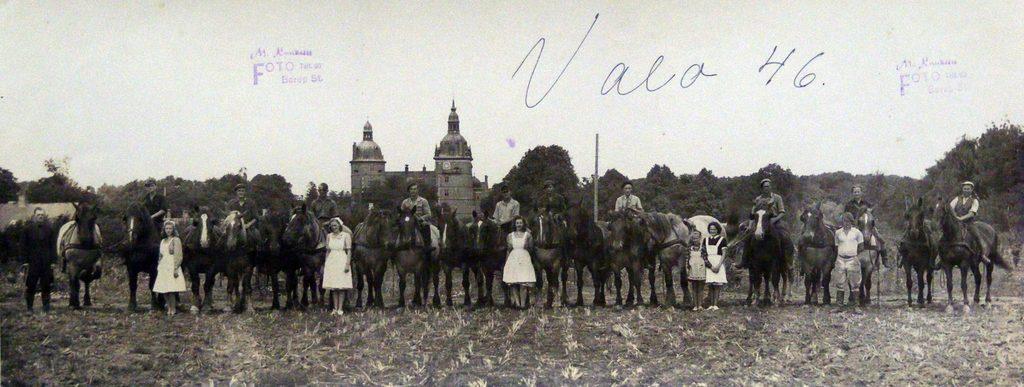 67.105 Vallø gods 4600 Køge år 1946