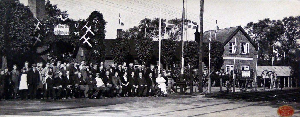 67.85 Borup Andelsmejeri 50 års jubilæum 1938