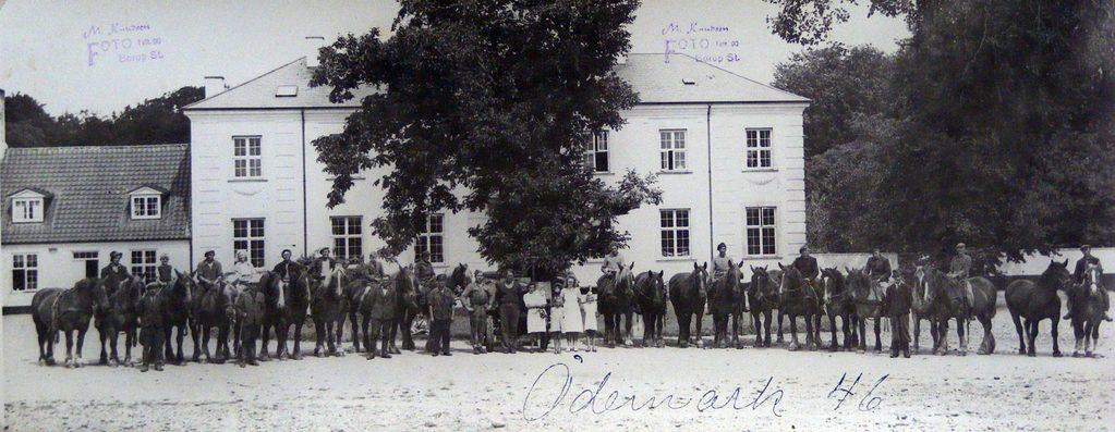 67.95  Ødemark gods , 4190 Munke Bjergby, år 1946