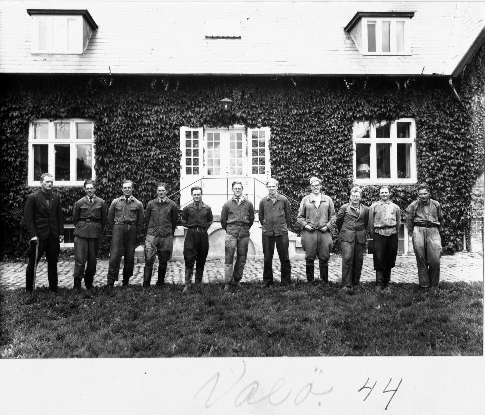 71.68 Vallø hovedgård,4600 Køge, år 1944