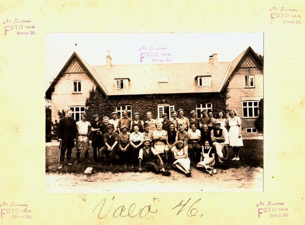 71.69 Vallø hovedgård,4600 Køge, år 1946- Se også 17.13