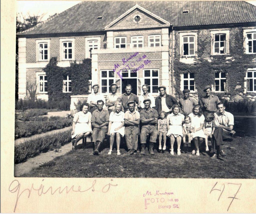 71.83 Grønessegård,3390 Hundested,år 1947