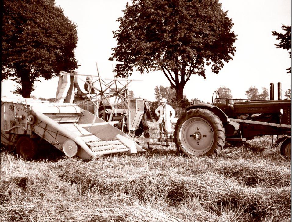 8.11  Landbrug, men hvor ?  Scannet fra nyere filmnegativ.