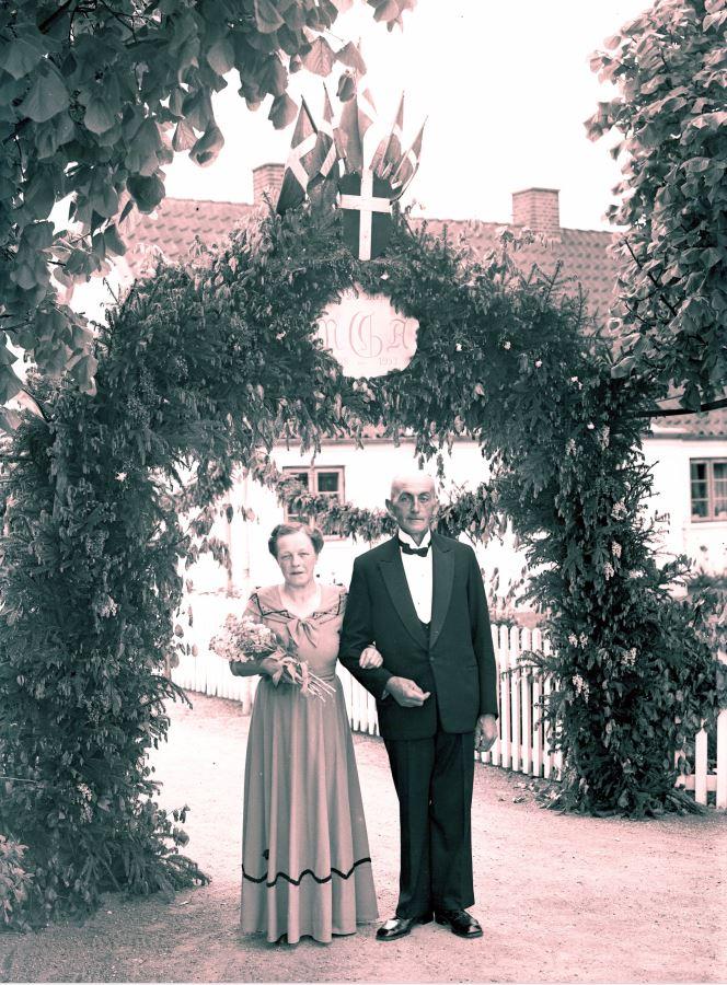18.6  Sølvbryllup   År 1953