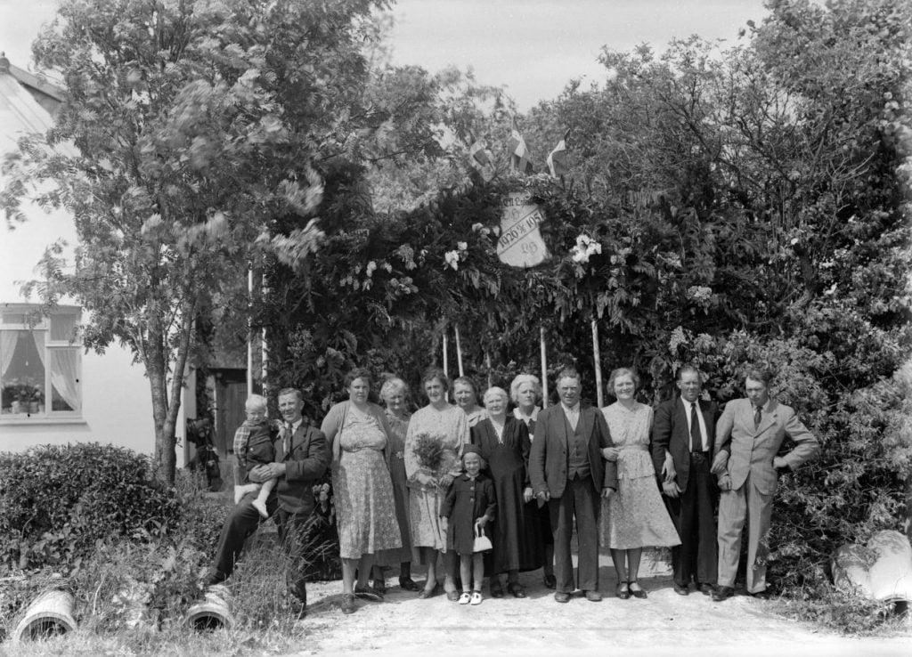 23.7  Sølvbryllup 13. juni 1951