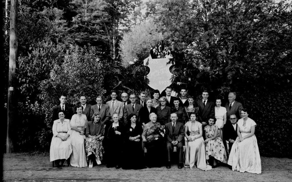 24.8  Guldbryllup 1953