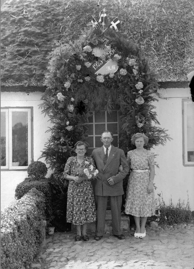 27.6  Sølvbryllup 1950
