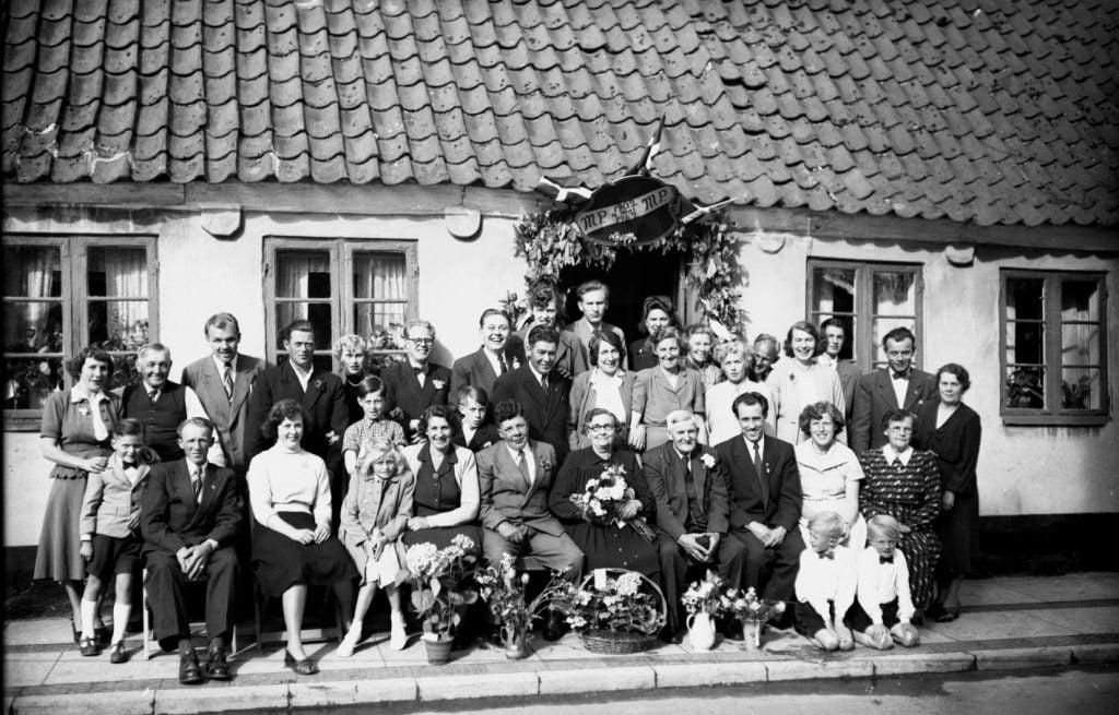 29.3  Guldbryllup 16. maj 1952  MP og MP