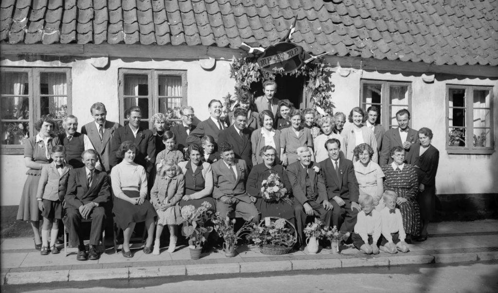 29.4  Guldbryllup 16. maj 1952  MP og MP