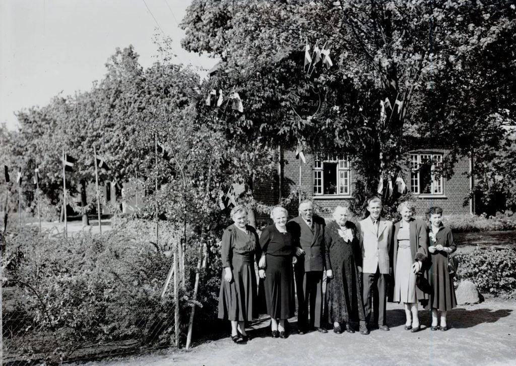 38.5  Sølvbryllup 17. maj 1953