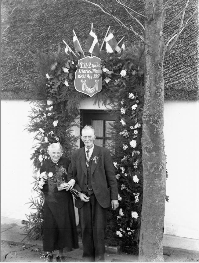 41.13   Guldbryllup 8. november 1951, Marie og Martin