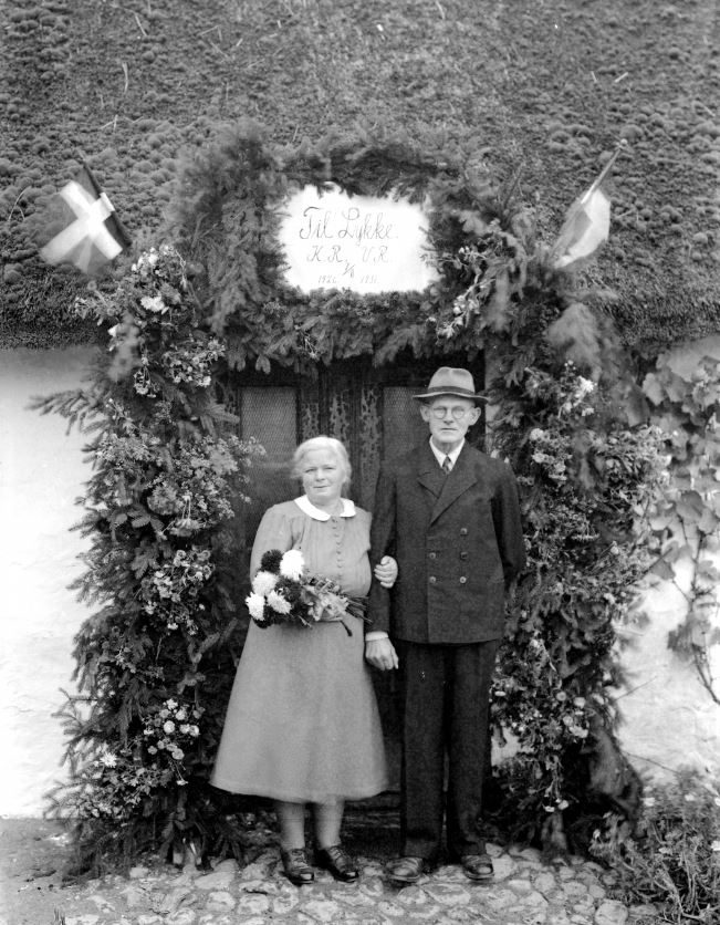 41.14  Sølvbryllup 7. november 1951  KR og VR