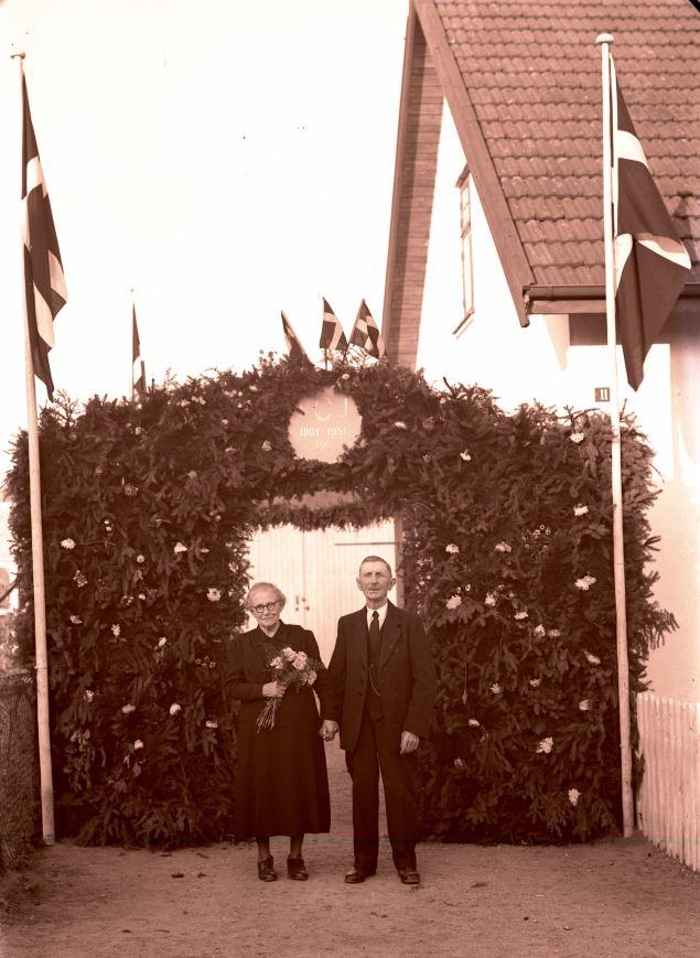 41.5  Guldbryllup 1951