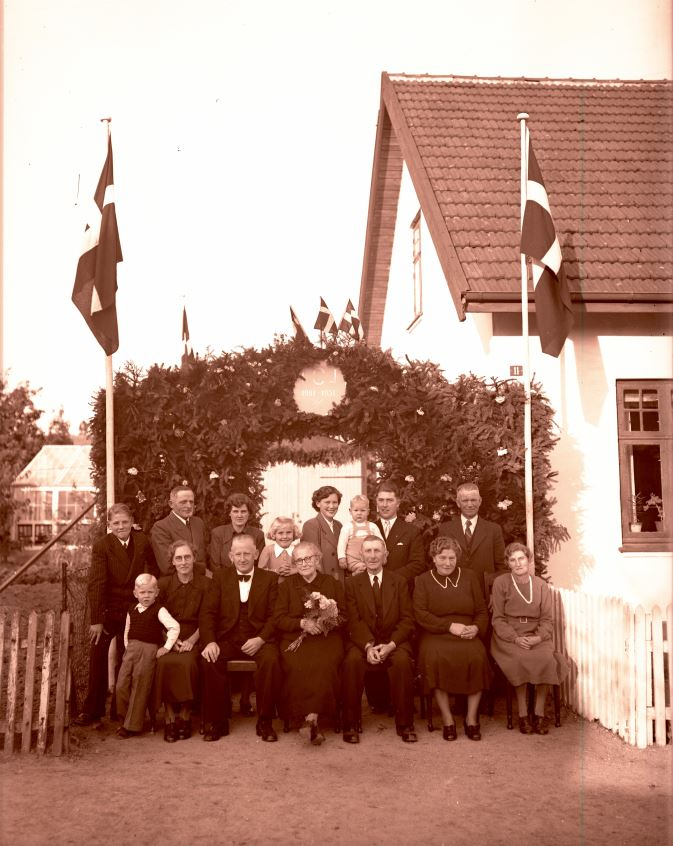 44.5  Guldbryllup 1951