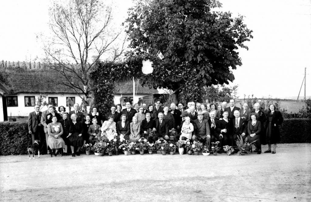 45.5  Sølvbryllup 1949