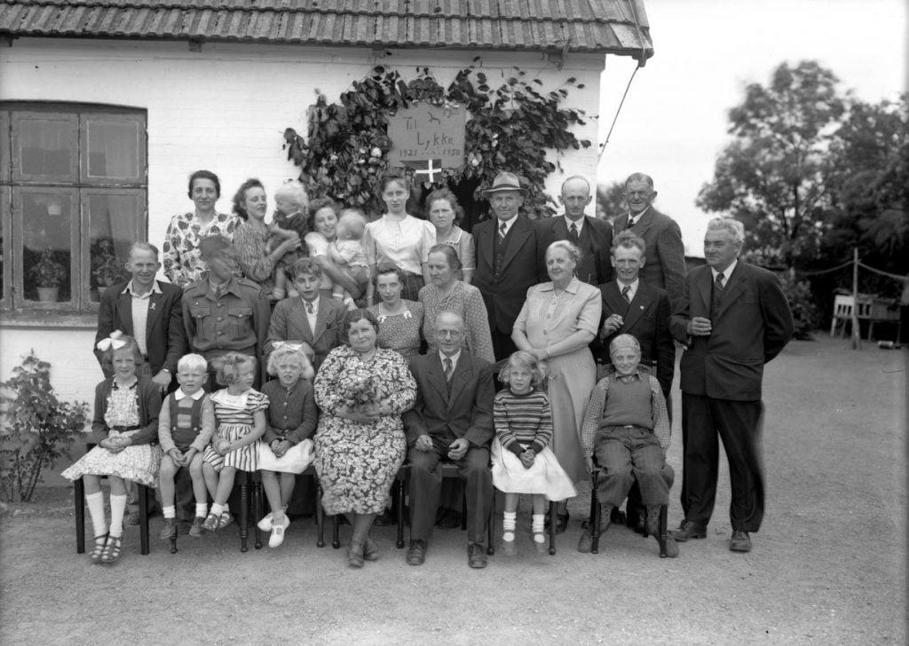 46.11  Sølvbryllup 5 juli 1950