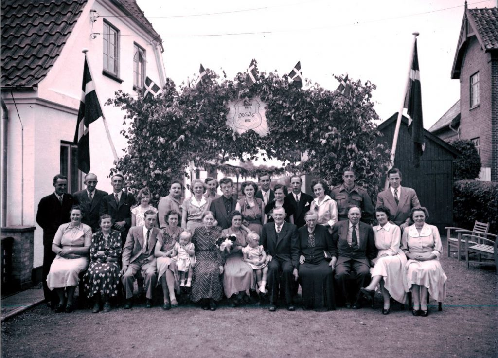 47.4  Sølvbryllup 1952