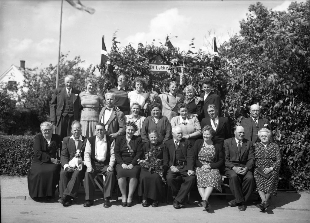 47.7  Guldbryllup 30. maj 1952  JH-HH