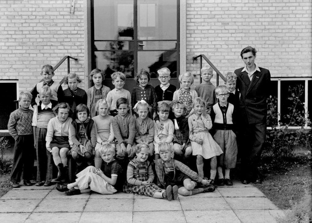 50.11  Borup skole, 1954