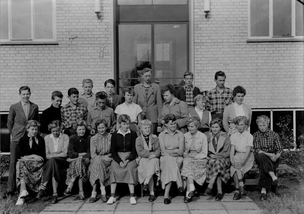 50.12  Borup skole, 1954