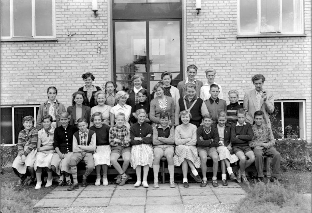 50.7  Borup skole, Borup skole, år 1954
