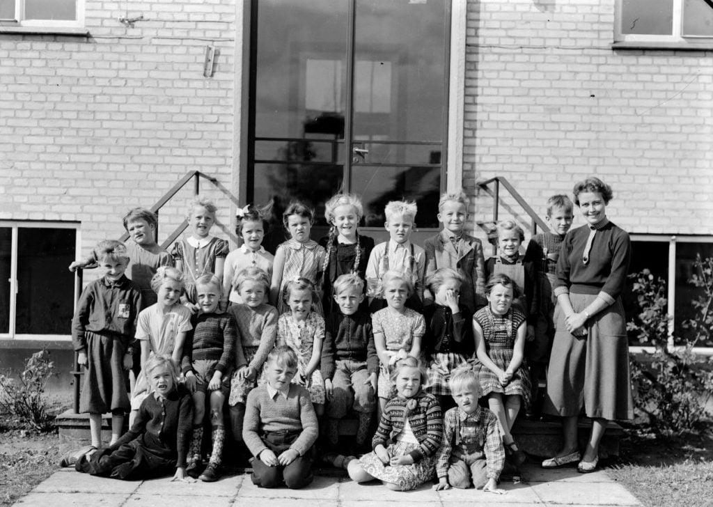 50.9  Borup skole,1954