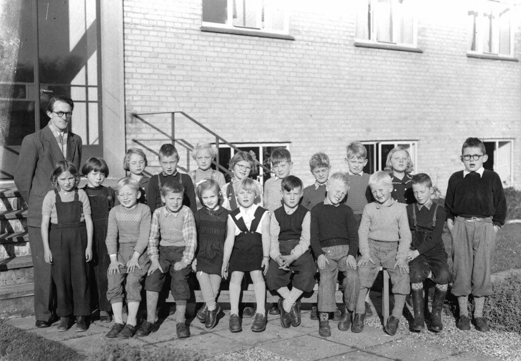 56.2  Borup skole, år 1954