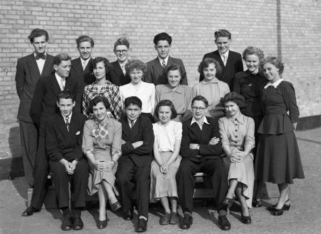 56.4  Borup skole, år 1952