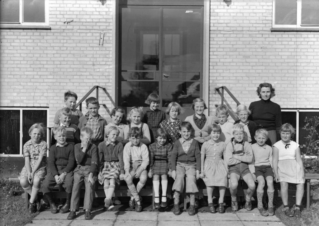 56.6  Borup skole, år 1954 iflg.Lis Nielsen