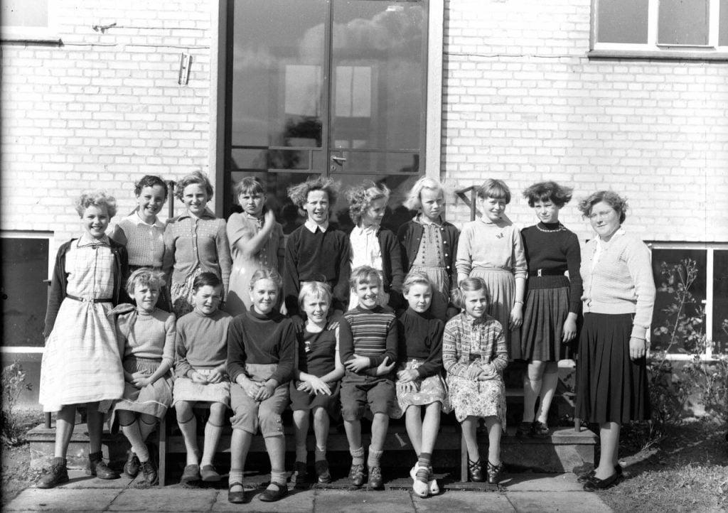 56.7 Borup skole, år 1954 iflg.Lis Nielsen