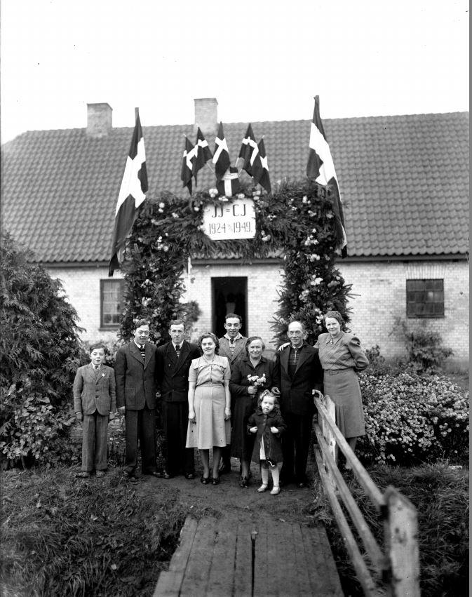 57.13  Sølvbryllup 14. november 1949  JJ-CJ