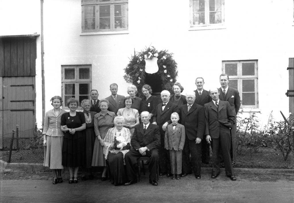 57.14  60 års bryllupsdag 1889-1949  S-JC
