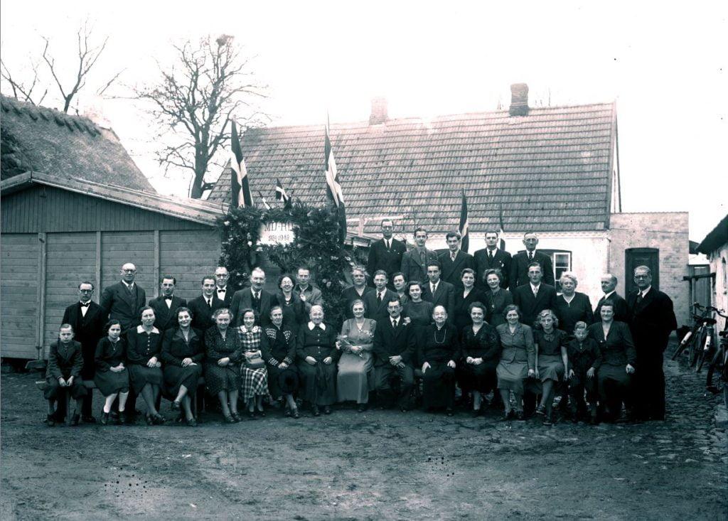 57.17  Sølvbryllup 1949  MD-RD