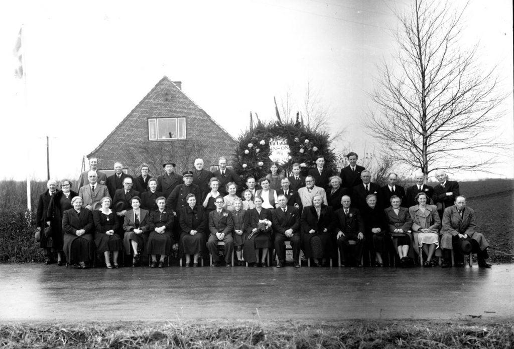 57.8  Sølvbryllup 30. november 1949  HN-ON