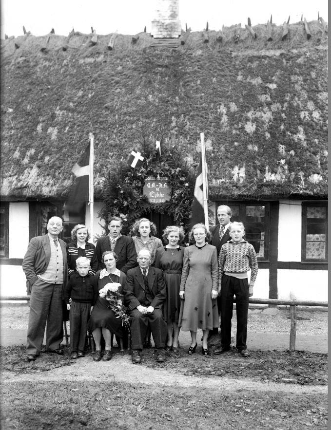 58.3  Sølvbryllup 7. november 1950