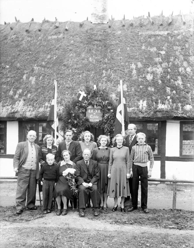58.4  Sølvbryllup 7. november 1950