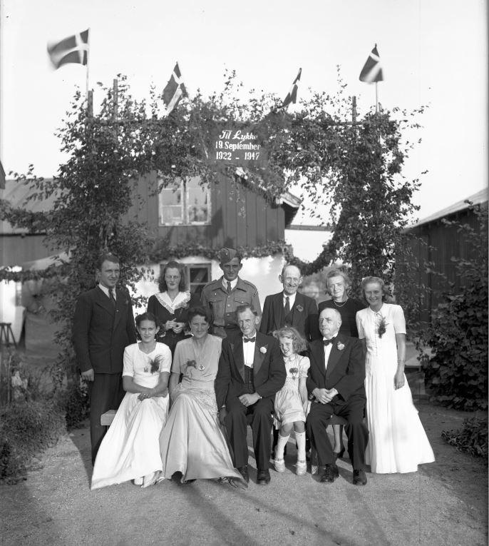 59.4  Sølvbryllup19. september 1947