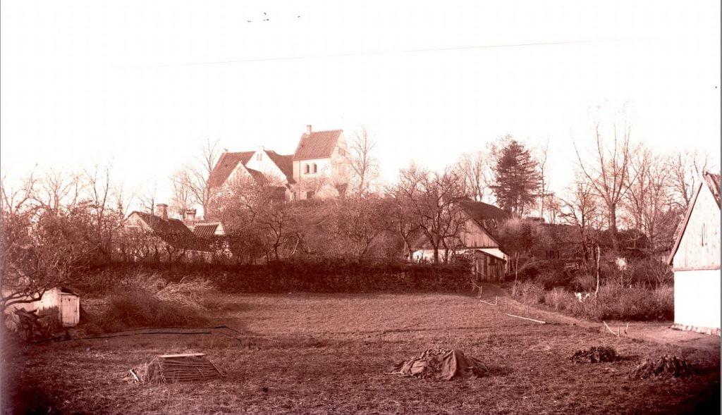 6.8  Pedersborg kirke, 4180 Sorø Billedet er nok taget for tidligt til at Marius Knudsen kan være fotografen.