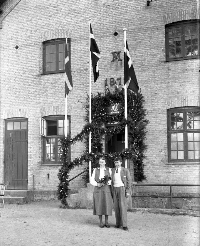 60.7  Sølvbryllup 14. maj 1951