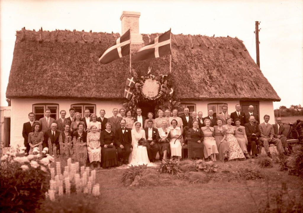 64.6  Sølvbryllup ( og bryllup) 22. juni 1949