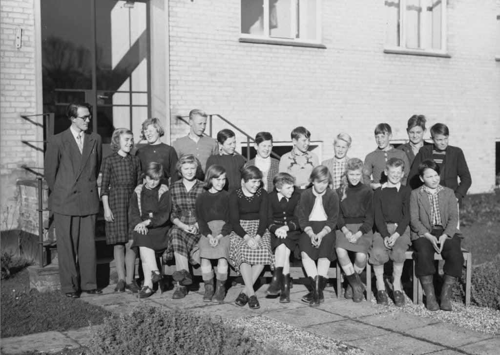 65.13  Borup skole, år 1954