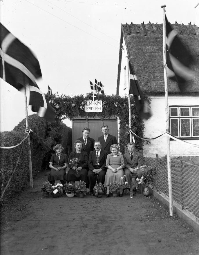 65.15  Sølvbryllup 10. november 1954  LM-KM