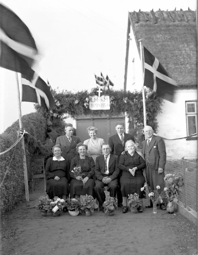 65.16  Sølvbryllup 10. november 1954  LM-KM